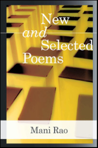 Mani Rao New and Selected Poems cover
